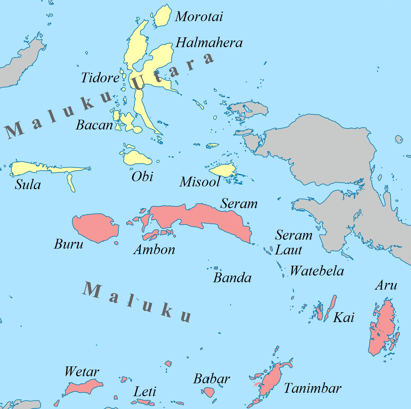 Download this Maluku Islands Wikipedia picture