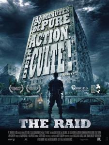 the raid movie poster france