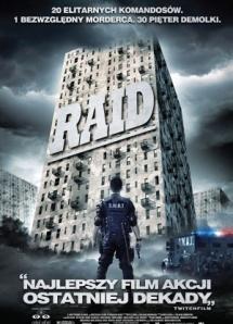 The Raid poster Polandia Version